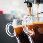 Koffiezetapparaat met verse bonen